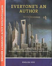 Cover of: Everyone's An Author With Readings Custom Text for Northwestern State University English 1010
