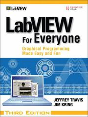 Cover of: LabVIEW for Everyone | Jeffrey Travis
