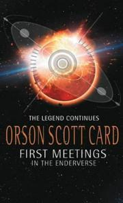 Cover of: First Meetings