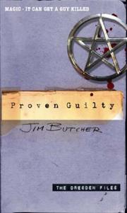 Cover of: PROVEN GUILTY (DRESDEN FILES, NO 8)