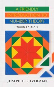 Cover of: Friendly Introduction to Number Theory, A