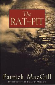Cover of: The Rat-Pit | Patrick MacGill