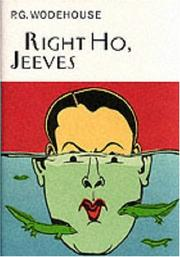 Cover of: Right Ho, Jeeves
