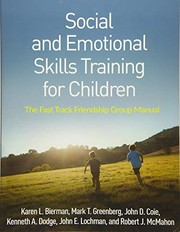 Cover of: Social and Emotional Skills Training for Children