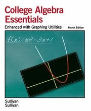 Cover of: College algebra essentials: a unit circle approach