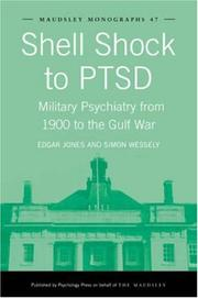 Cover of: Shell shock to PTSD