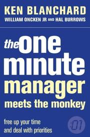 Cover of: The One Minute Manager Meets the Monkey (One Minute Manager)