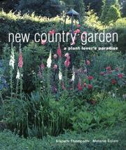 Cover of: New Country Garden | Elspeth Thompson
