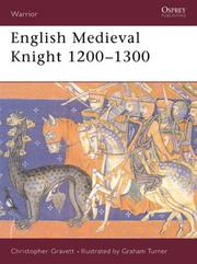 Cover of: English medieval knight, 1200-1300