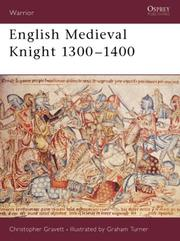 Cover of: English Medieval knight, 1300-1400
