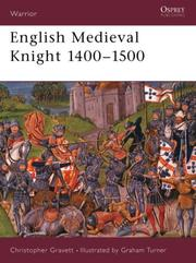 Cover of: English Medieval knight, 1400-1500