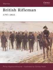 Cover of: British Rifleman 1797-1815 (Warrior)