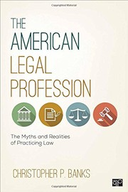 Cover of: The American Legal Profession