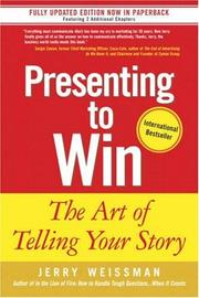 Cover of: Presenting to Win | Jerry Weissman