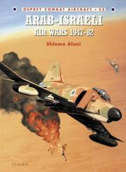 Cover of: Arab-Israeli Air Wars 1947-1982