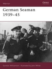 Cover of: German Seaman 1939-45 (Warrior)