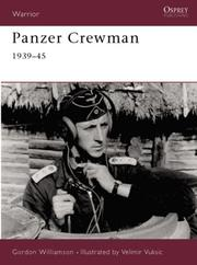 Cover of: Panzer Crewman 1939-45 (Warrior)