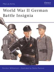 Cover of: World War II German Battle Insignia