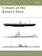 Cover of: U-boats of the Kaiser's Navy
