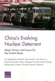 Cover of: China's Evolving Nuclear Deterrent