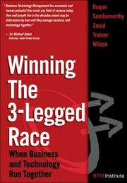 Cover of: Winning the 3-legged race