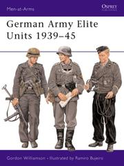Cover of: German Army Elite Units 1939-45