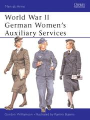 Cover of: World War II German Women's Auxiliary Services
