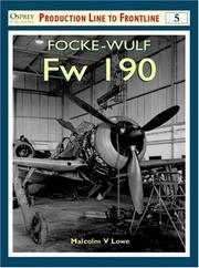 Cover of: Focke-Wulf Fw 190 (Osprey Production Line to Frontline 5)