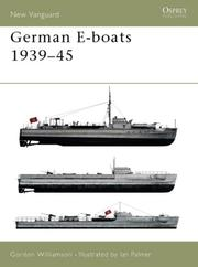 Cover of: German E-boats 1939-45