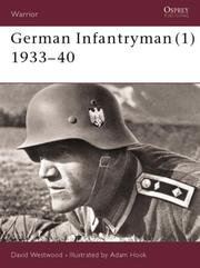 Cover of: German Infantryman (1) 1933-40 (Warrior)