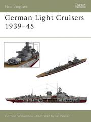 Cover of: German Light Cruisers 1939-45