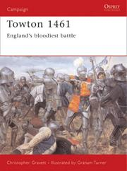 Cover of: Towton 1461: England's bloodiest battle