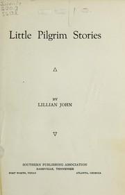 Cover of: Little pilgrim stories | Lillian John