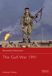 Cover of: The Gulf War 1991 by Alastair Finlan