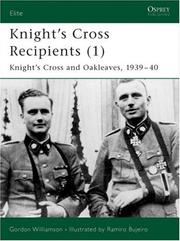 Cover of: Knight's Cross and Oak-Leaves Recipients 1939-40