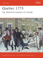 Cover of: Quebec 1775 | Brendan Morrissey