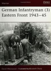 Cover of: German Infantryman (3) Eastern Front 1943-45 (Warrior)