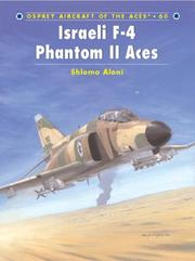 Cover of: Israeli F-4 Phantom II Aces (Aircraft of the Aces)