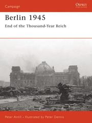 Cover of: Berlin 1945 | Peter Antill