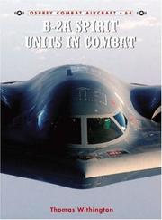 Cover of: B-2A Spirit Units in Combat (Combat Aircraft) | Thomas Withington