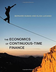 Cover of: The Economics of Continuous-Time Finance