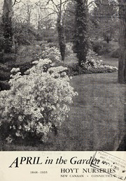 Cover of: April in the garden, 1848-1935 | Hoyt Nurseries