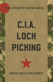 Cover of: CIA Lock Picking