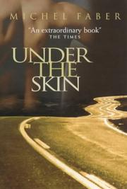 Cover of: Under the skin