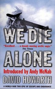 Cover of: We Die Alone