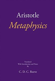 Cover of: Metaphysics
