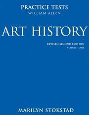 Cover of: Art History Practice Tests
