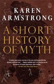 Cover of: A Short History of Myth (Myths, The)