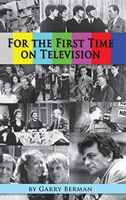 Cover of: For the First Time on Television...