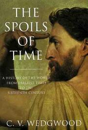 Cover of: spoils of time | C. V. Wedgwood